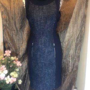 Gorgeous Calvin Klein Navy  Blue  dress.  Size 10